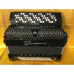 Borsini K11 C Scale  Midi 5 Row Chromatic Accordion 92/120 bass Used