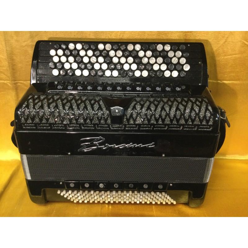 Borsini K11 C Scale  Midi 5 Row Chromatic Accordion 92/120 bass Used