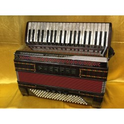Beltuna Midi Alpstar 4 voice musette Accordion 41/120bass Used Like New