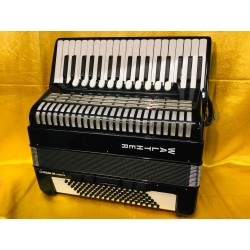Walther Corsar 96 Cassotto (Weltmeister) 37 key 96b Single Cassotto 4 voice Straight Tuned Accordion Used