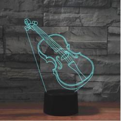 LED Violin Acrylic Table...