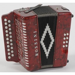 Rossini B/C 2 voice Irish Style Button Accordion
