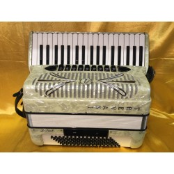 Trevani 96 Bass Midi 4 voice Accordion 37 KeyWhite Used