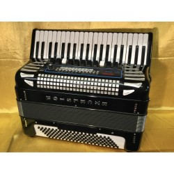 Excelsior Midivox Series III Piano Accordion 4 voice 41/120 Musette Used