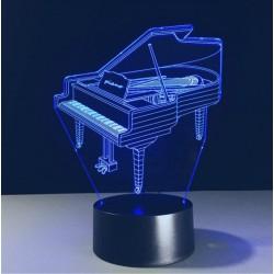 LED Piano Acrylic Table...