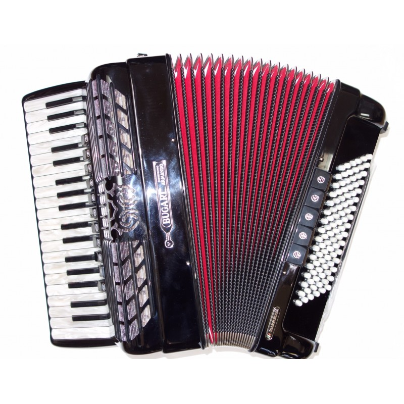 Bugari Championfisa 4 Voice Compact Piano Accordion 37/96 Midi Used