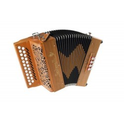 New Saltarelle B/C Awen Irish Style 3 voice Irish dry tuned Accordion