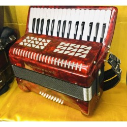 Boorinwood 32 key 24 bass Piano Accordion Used