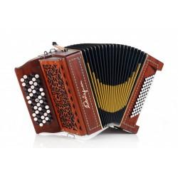Castagnari Magica K3, 5 Row 57 Button 72 Bass 3 voice Chromatic Accordion