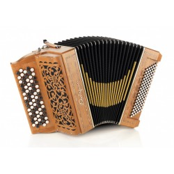 Castagnari Magica 3, 5 Row 72 Button 96 Bass 3 voice Chromatic Accordion