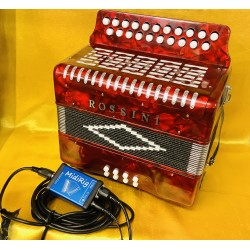 Rossini Midi B/C 2 Irish Style Button Accordion