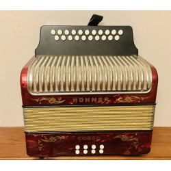 Hohner Corso C/C# 3 Voice Button Accordion Used