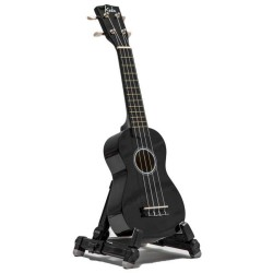 Koda BLACK Soprano Ukulele with Bag