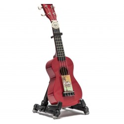 Koda Red Soprano Ukulele with Bag