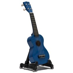 Koda Blue Soprano Ukulele with Bag