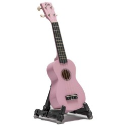 Koda Pink Soprano Ukulele with Bag