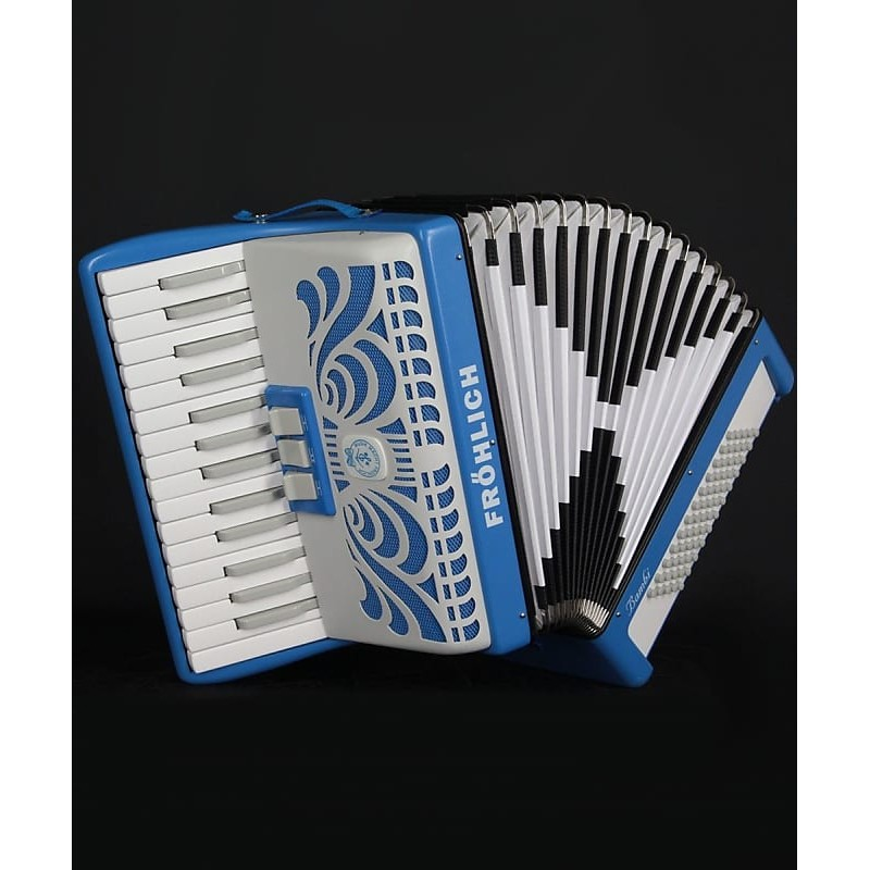 Fröhlich Bambi 30 key 60 bass Accordion mint condition Used