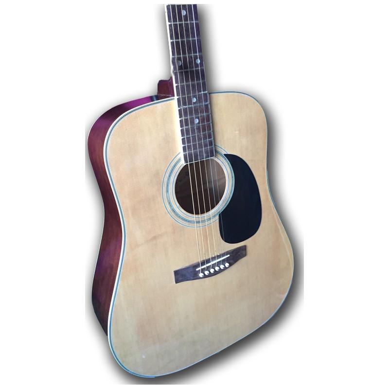 Boorinwood FAW803 Dreadnought Acoustic Guitar Natural