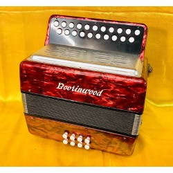 Boorinwood B/C 2 voice Irish Style Button Accordion