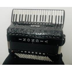 Vignoni Philarmonic IV 37 Key 96 Bass Midi Cassotto 4 Voice Compact Piano Accordion Used