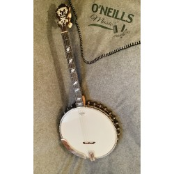Langstile III 1920s USA 17 Fret Irish Tuned Tenor Banjo in case Used