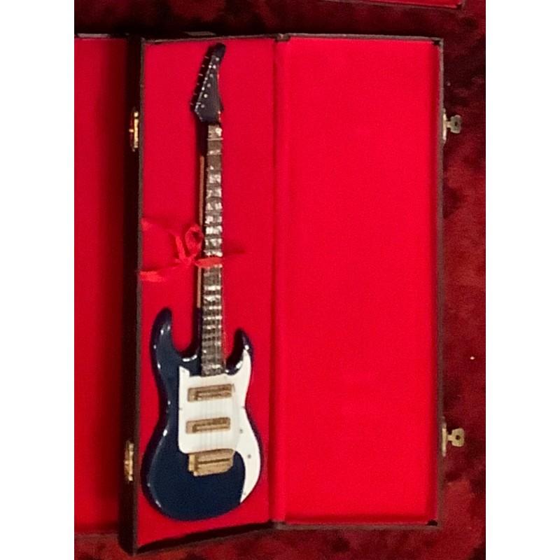 Model Guitar Gift - Stratocaster Copy Blue