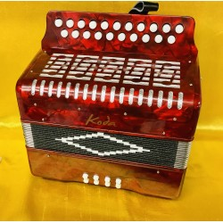New Koda B/C 2 voice Irish Style Button Accordion