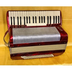 Scandalli 1950s IV Voice 41/120 Scottish Musette Piano Accordion Used
