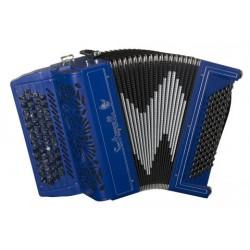 Saltarelle Agapanthe C scale 5 Row  Chromatic 62 Button 78 Bass Accordion