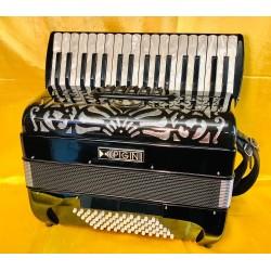 Pigini P36 model 34 key 72 bass 3 voice Irish Dry Tuned Accordion Used