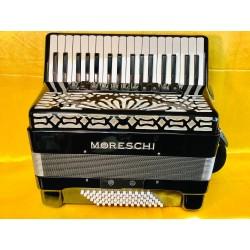 Moreschi 34 Key 72 Bass 4 Voice Piano Accordion Used