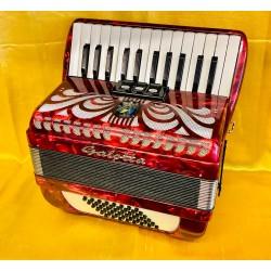 Galotta Caprice 26 key 48 bass compact accordion used