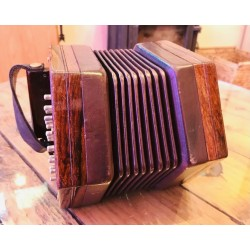 Wheatstone Aeola Anglo Concertina G/C 40 button Wooden Ends Used
