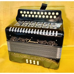 Chanson D/G 2 voice Button Accordion Used