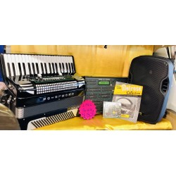 Summer Bundle Excelsior Midivox Series II Piano Accordion, expander and more Used