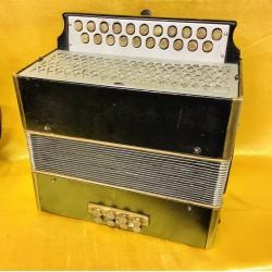 Hohner B/C Black 21 button accordion Used