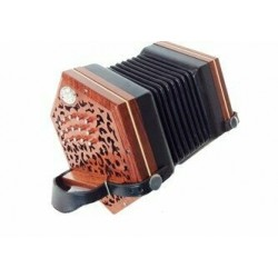 New Vintage Anglo Concertina G/C 30 button Rosewood Jeffries Layout