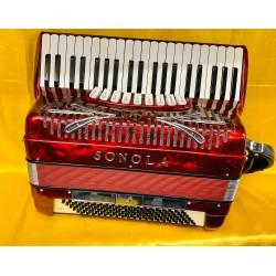 Sonola IV Voice 41/120 Scottish Musette Piano Accordion Used