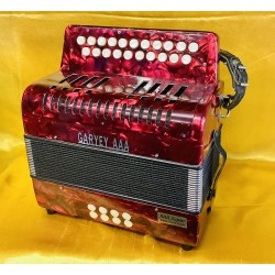 Garvey AAA B/C 2 voice Irish Style Button Accordion Used
