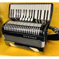 Hohner Musette Concerto IIIN 72 Bass Lightweight Used