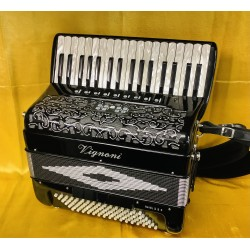 Vignoni Ravel IIB Special Midi 34/96 bass 4 Voice Musette Immaculate Used