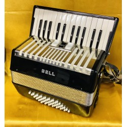 Bell 26 key 48 Bass Piano Accordion Used