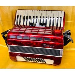 Baile 34 key 48 bass 3 Voice Piano accordion used