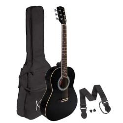 Koda 3/4 Acoustic Guitar PACK, Black
