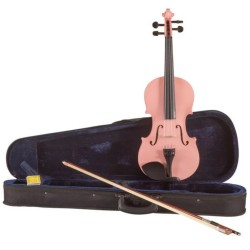 Koda Pink 3/4 Size Violin Outfit