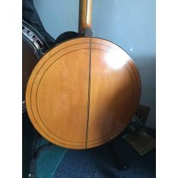 Paramount Style B vintage 19 Fret Irish Tenor Banjo Made in USA in case Used
